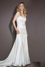 Brautkleid in Weiss ganz klassisch