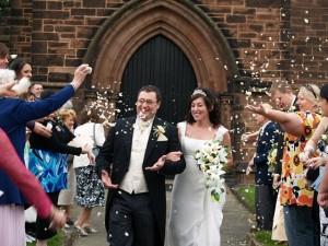Der Frack wird bei der Hochzeit immer wieder gerne getragen