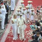 Albert und Charlene - Hochzeit