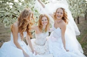 Die Brautjungfrauen sind ein alter Brauch, der auf heidnische Zeiten zurückgeht