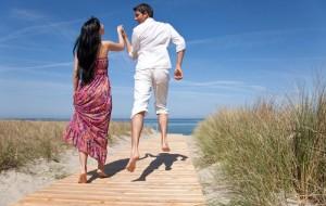 Die Flitterwochen sollen dem Brautpaar zur Entspannung verhelfen