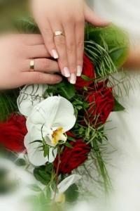 Bei der evangelischen Hochzeit ist der Bund der Ehe kein Sakrament