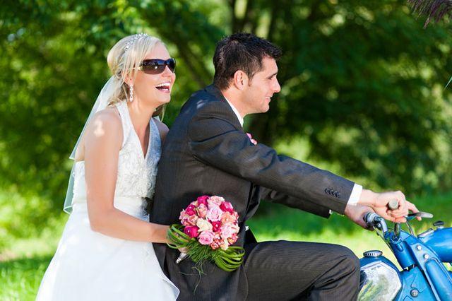 Heiraten Auf Dem Motorrad