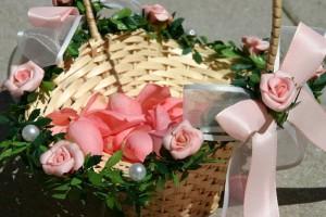 Rosa wird sehr gerne als Hochzeitsfarbe gewählt