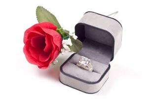 Die Verlobung wird als Eheversprechen gesehen