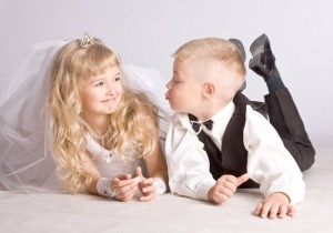 Bei der Hochzeit sollte immer an die Kinderbetreuung gedacht werden