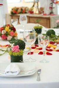 Die Deko für die Hochzeit selbst machen