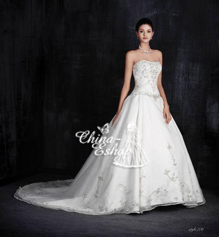 Brautkleid aus China - Ablauf von der Bestellung bis zur Lieferung