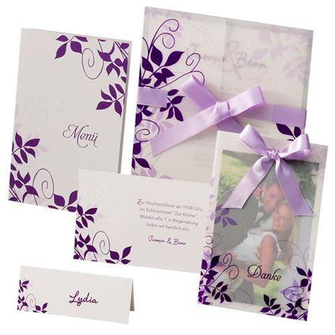 Hochzeitseinladungen 2012